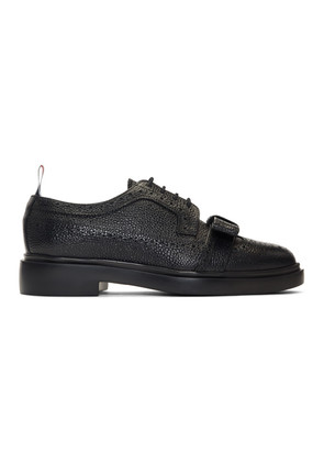 Thom Browne Black Bow Longwing Brogues