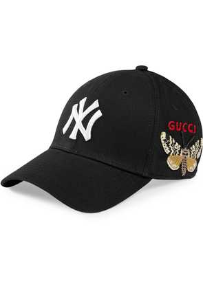 Gucci Baseball cap with NY Yankees™ patch - Black