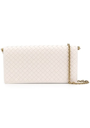 Bottega Veneta Intrecciato small purse - White