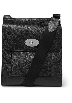 Mulberry - Antony Full-grain Leather Messenger Bag - Black