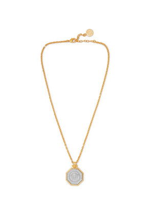 Versace - Gold And Silver-tone Necklace - Gold