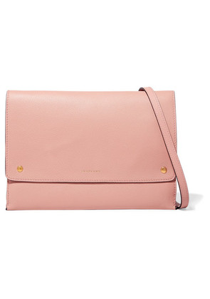 Burberry - Textured-leather Shoulder Bag - Blush