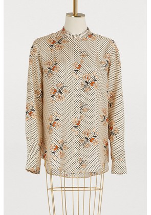 Swahili shirt with floral print