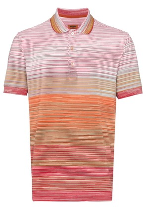 Missoni striped cotton polo shirt - S3038 Multicoloured