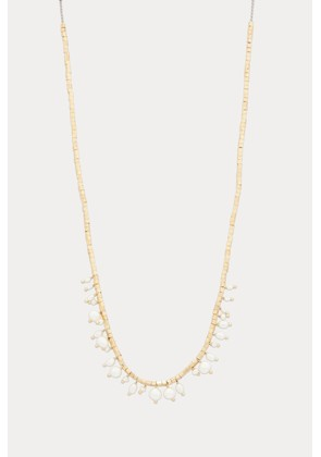 Lipp silver gilt and freshwater pearl necklace
