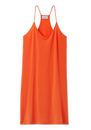 Cupro Dress - Orange