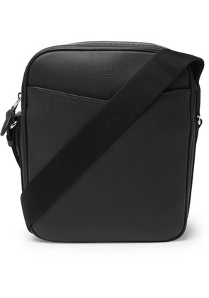 Dunhill - Hampstead Full-grain Leather Messenger Bag - Black