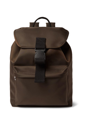 A.P.C. - Shell Backpack - Chocolate
