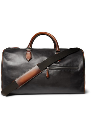 Berluti - Jour-off Mm Leather Holdall - Black