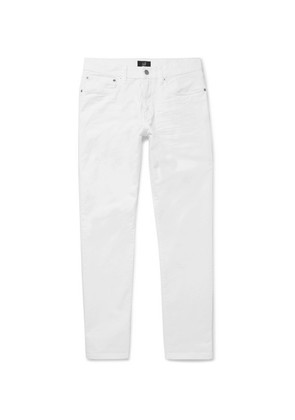 Dunhill - Slim-fit Stretch-denim Jeans - White