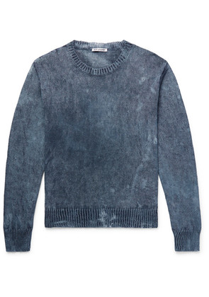 Our Legacy - Mélange Hemp Sweater - Blue