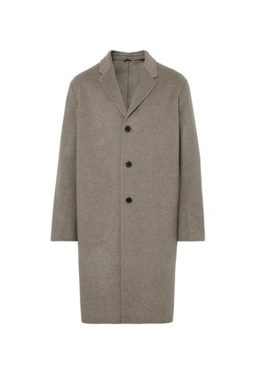 Acne Studios - Chad Oversized Double-faced Wool And Cashmere-blend Overcoat - Gray