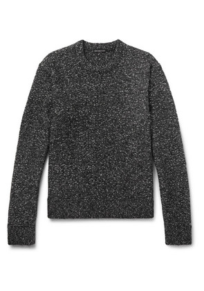 James Perse - Mélange Cotton-blend Sweater - Gray