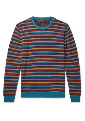 Altea - Striped Wool-blend Sweater - Multi