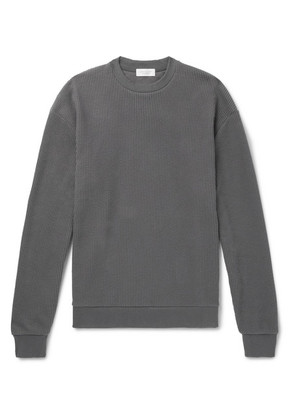 John Elliott - Cotton-blend Corduroy Sweater - Gray