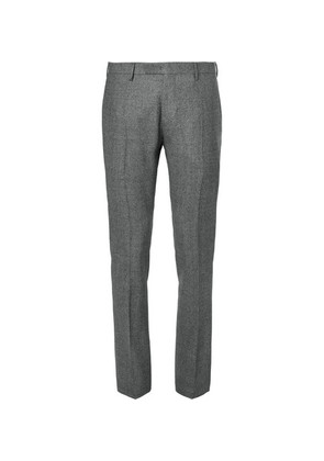 Boglioli - Grey Slim-fit Tapered Puppytooth Wool Suit Trousers - Gray