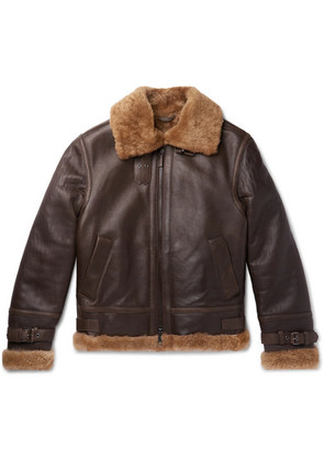 Brioni - Shearling Jacket - Brown