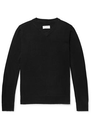 Officine Generale - Slim-fit Cashmere Sweater - Black