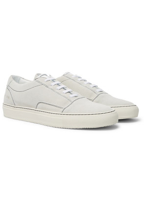 Common Projects - Cap-toe Suede Sneakers - Off-white