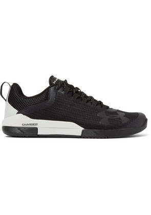 Under Armour - Charged Legend Mesh Sneakers - Black