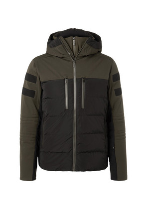 Fusalp - Albinen Quilted Shell Hooded Down Ski Jacket - Green