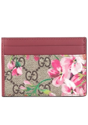 Gucci GG Blooms card case - Red