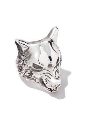 The Great Frog large wolf ring - Silver