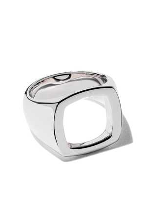 Tom Wood cushion open ring - Silver