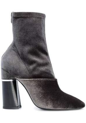 3.1 Phillip Lim chunky heel boots - Green