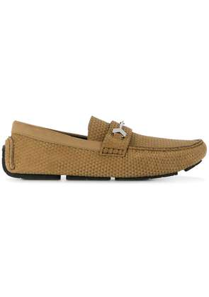 Jimmy Choo Brewer loafers - Neutrals