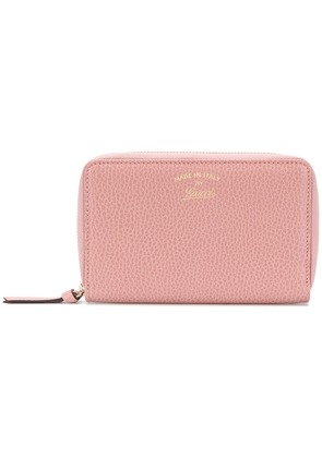 Gucci small zip-around wallet - Pink