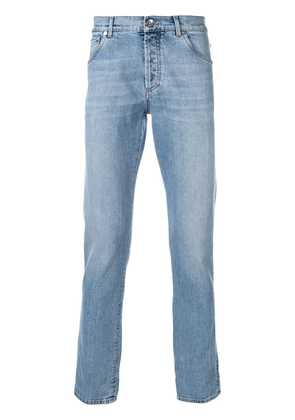 Brunello Cucinelli skinny low rise jeans - Blue
