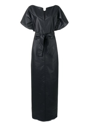 Givenchy long belted dress - Black