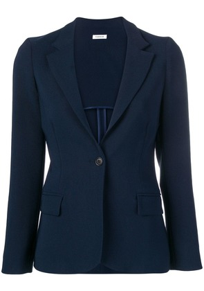 P.A.R.O.S.H. fitted blazer - Blue