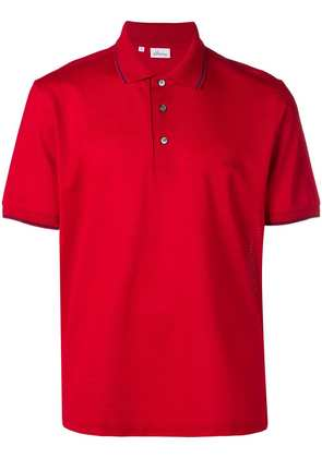 Brioni classic polo shirt - Red