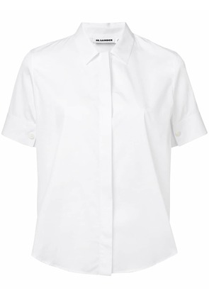 Jil Sander short-sleeved shirt - White