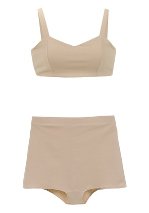 Olympiah Basic bra and briefs set - Neutrals