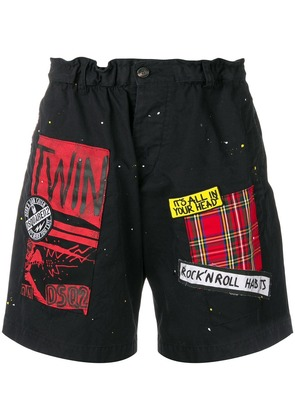 Dsquared2 It's All In Your Head shorts - Black