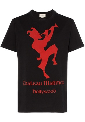 Gucci Chateau Marmont short sleeved T-shirt - Black