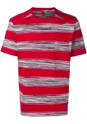 Missoni striped T-shirt - Red