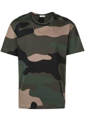 Valentino camouflage print T-shirt - Green