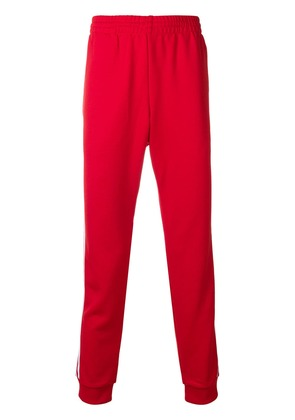 Adidas SST track trousers - Red
