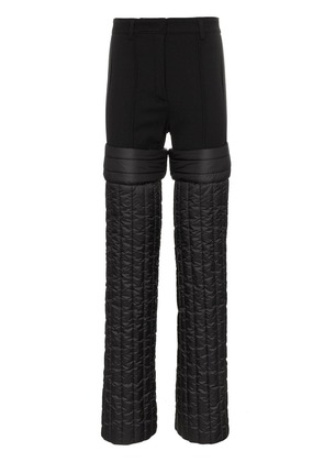 Colmar A.G.E. By Shayne Oliver High Waisted Padded Wool Trousers -