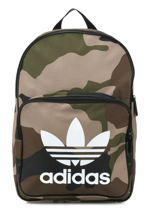 Adidas Trefoil camouflage backpack - Green