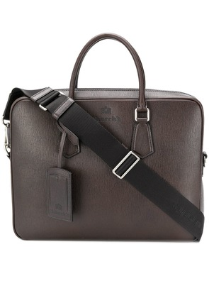 Church's top zipped briefcase - Brown
