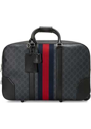 Gucci Soft GG Supreme carry-on duffle with wheels - Black