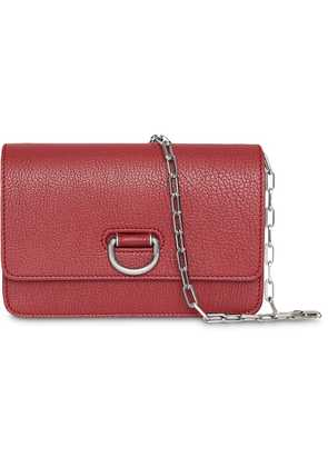 Burberry The Mini Leather D-ring Bag - Red