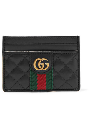 Gucci - Quilted Leather Cardholder - Black