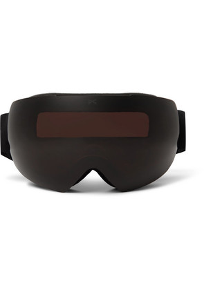 Anon - Mig Ski Goggles And Stretch-jersey Face Mask - Black