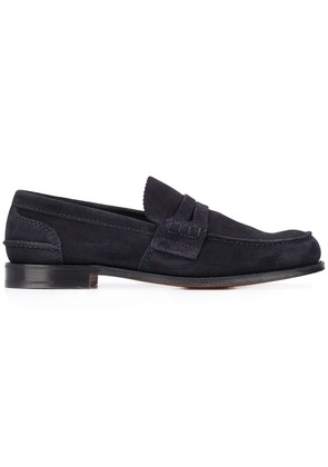 Church's classic flat loafers - Blue